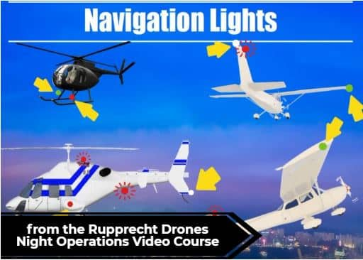 Drone Navigation Lights