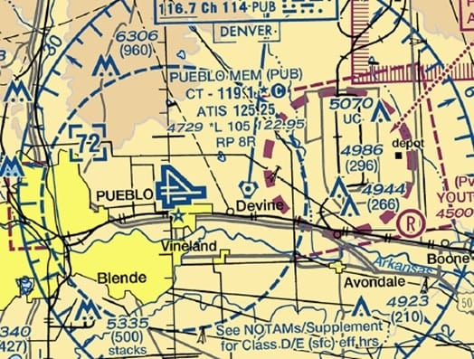 Section 107.41 Operation in certain airspace. (2018) -